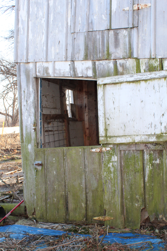 front door to the barn